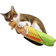 Cat Funny Toys Stuffed Plush Corn Pet Kitten Interactive Teaser Catnip Squeaky