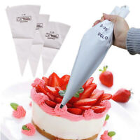 NEW Silicone Reusable Cream Pastry Icing Bag Piping Bag Cake Decorating Tool