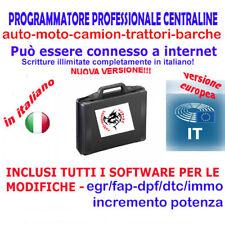 PROGRAMMATORE CENTRALINE PROFESSIONALE IN ITALIANO-EGR/FAP/INCREMENTO POTENZA