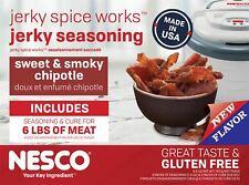 Jerky Spice Works Sweet Smoky Chipotle Flavor Beef Jerky Seasoning Nesco BJSC-6