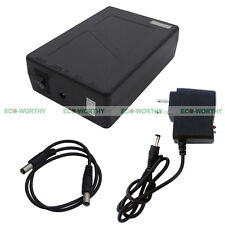 9800mAh DC Super Power Rechargeable Li-ion Battery Pack for 12V Devices CCTV