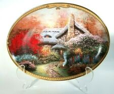 """Thomas Kinkade Co 00006000 llector's Plate """"Ashley's Cottage"""""""