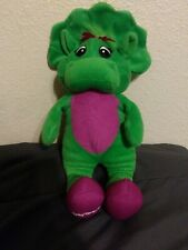"Baby Bop plush Barney 12"" Sings I Love You"