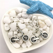 Bicycle Earrings Tibet silver Charms Earrings Charm Earrings for Her
