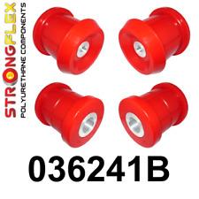 4 PU Buchsen für Tonnenlager HA Satz BMW 1er e81 / 3er e90 StrongFlex 80ShA rot