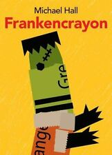 Frankencrayon by Michael Hall - NEW SOFTCOVER book