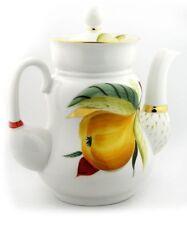 Lomonosov Imperial Porcelain Pear Tea Pot AUTHENTIC RUSSIAN  Collectable