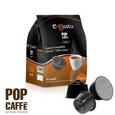 80 CAPSULE COMPATIBILI DOLCE GUSTO NESCAFE CAFFE DOLCEGUSTO CIALDE RISTRETTO POP