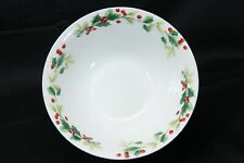 """Target Home Xmas Charm Holly Berry Soup Bowls 7"""" Lot of 12"""