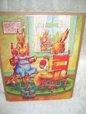 Vintage Peter Rabbit Puzzle by Theo J. Jansen