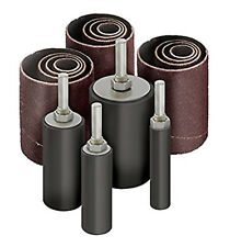 "32pc 2"" LONG Sanding Drum & Sleeves Set Kit - Fits Drill Press Spindle Sander"