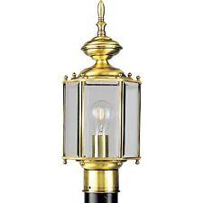 Progress Brassguard Lantern One-Light Post Lantern - P5430-10