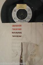 "MODERN TALKING - Youre My Heart Youre My Soul - 7"" Single PS GERMAN PRESS"