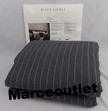 Ralph Lauren Grey Haberdashery TWIN Duvet Cover Gray
