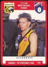 Richmond Tigers Australian Football Trading Cards