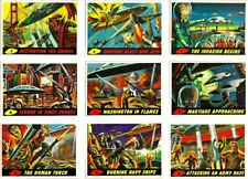 1994 MARS ATTACKS ARCHIVES COMPLETE BASIC TRADING CARD SET (100 CARDS)