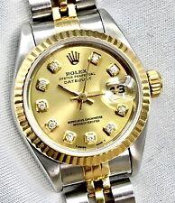 Rolex Lady Datejust 69173 acero oro diamantes esfera 26mm automático