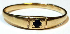 Ring Gold 583 mit Tansanit Russland RG 52  ca. 16,6mm