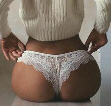 Newly Women's Lace Underwear Briefs Panties G-string Lingerie Thongs S M L XL