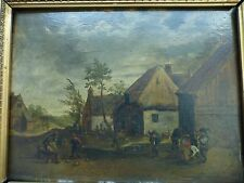 follower of David Teniers the  Younger oil painting on oak board
