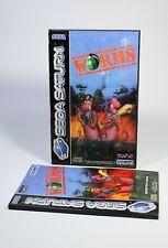 WORMS für Sega Saturn Spiel komplett mit Anleitung und OVP