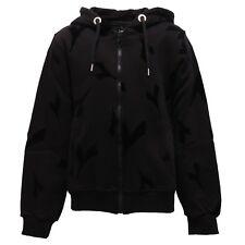 2629V felpa bimba unisex Diadora Black Label full zip black sweatshirt boy girl
