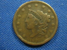 1838 US Matron Head Large Cent One Cent Coin