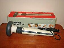 Panasonic Panabrator IV Electric Variable Speed Heat Massager EV222 w/ Box
