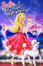BARBIE: A FASHION FAIRYTALE Movie POSTER 11x17