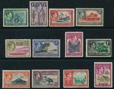 British Solomon Islands 1939 SG 60-65,66-72 MM(no gum) cat. £85