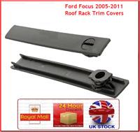 Fits Ford Focus MK3 4x Roof Rack Cover Replacement Rail Trim Rack Lid Cap Gap