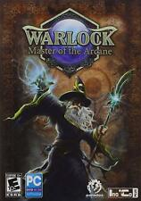 WARLOCK MASTER OF THE ARCANE AMR- PC Game-New & Sealed-Fast Ship SF52