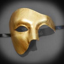 Phantom Masquerade Masks Venetian Mardi Gras Masquerade Mask Gold M2367