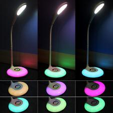 RGB LED Tischleuchte Schlafzimmer Dimmbar Kinder lernen Augenschutz Nachttisch
