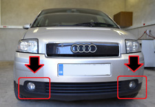 NEW AUDI A2 1999-2005 GENUINE FRONT RIGHT + LEFT FRONT BUMPER FOG LIGHTS GRILL