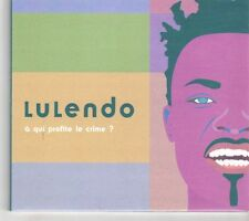 (GK261) Lulendo, A qui profite le crime? - 2001 CD
