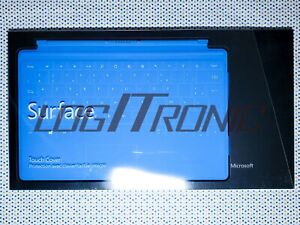 Microsoft Touch Cover Surface Pro 1 / 2 & RT Bleu Azur Neuf AZERTY FR Model 1515