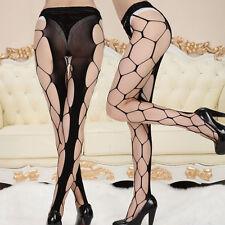 Women Sexy Stockings Black Elastic Socks Top Hollow Fishnet Stockings Leggings