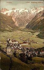 Engelberg Schweiz Obwalden 1910 Spannörter Spannort Alpen Kirche Panorama Dorf