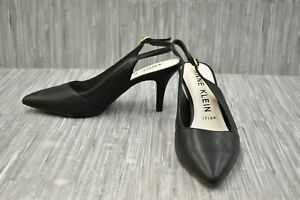 **Anne Klein Yaya Slingback Heels, Women's Size 8.5M, Black