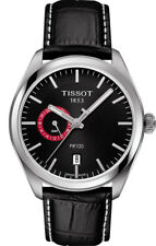 Tissot Men's Watch PR 100 Gent Dualtime Black 39mm GMT T1014521605100