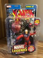 ToyBiz Marvel Legends Series III  Action Figure Magneto NIB