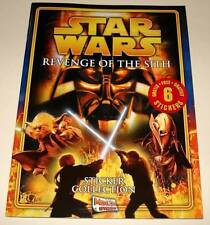 STAR WARS : REVENGE OF THE SITH STICKER COLLECTION BOOK 2005 MINT/ UNUSED