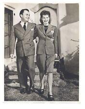 Maureen O'Hara 1942 Engagement Candid 6.5x8.5 Original Will Price