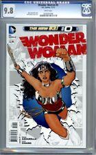 Wonder Woman #0  (2012)  Cliff Chiang Cover   DC Comics  1st Print    CGC 9.8