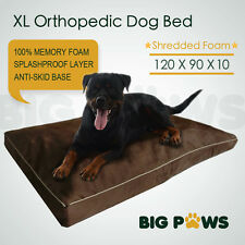 Memory Foam Dog Pet Bed Mat Orthopedic Extra Large Dog Bed Water Resistant