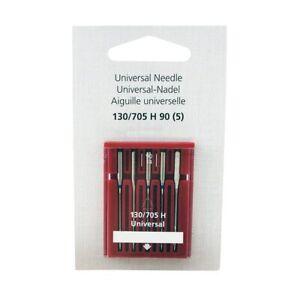 Bernina Genuine Universal Needles Size 90/14 Pack 5 130/705H 0025077110