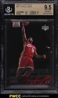 2003 Upper Deck Basketball LeBron James ROOKIE RC #301 BGS 9.5 GEM MINT
