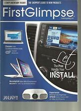 FIRST GILMPSE, JANUARY, 2013  (  THE SHOPPER'S GUIDE TO NEW PRODUCTS  )