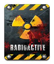 Warning Radioactive Mouse Mat - Fantasy/Goth